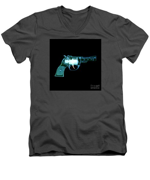 Cowboy Gun 001 Men's V-Neck T-Shirt