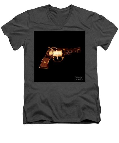 Cowboy Gun 002 Men's V-Neck T-Shirt