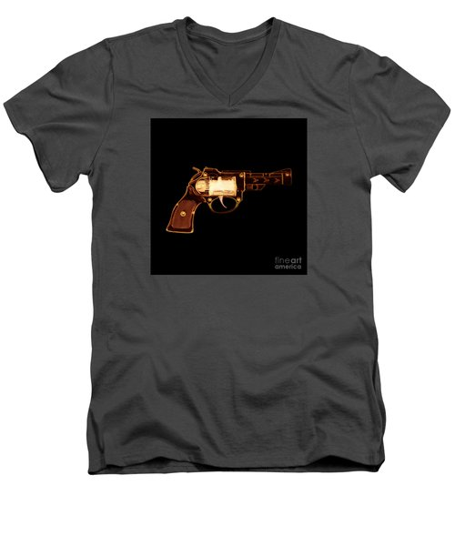 Cowboy Gun 002 Men's V-Neck T-Shirt