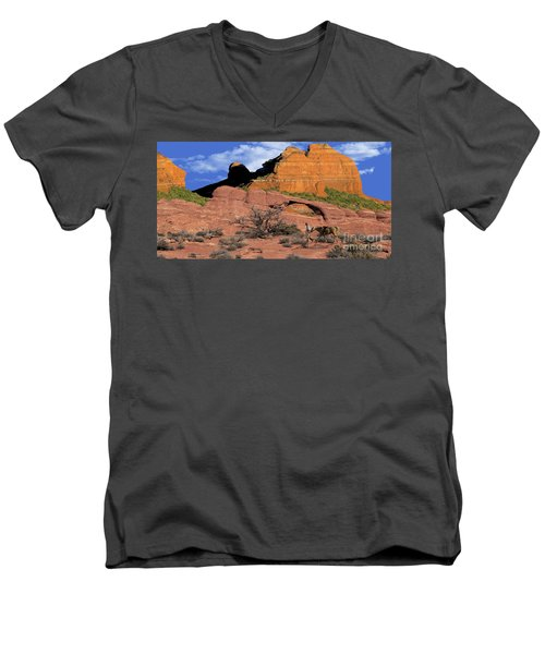 Cowboy Sedona Ver 2 Men's V-Neck T-Shirt