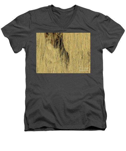 Coyote 3 Men's V-Neck T-Shirt