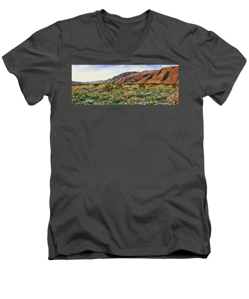 Coyote Canyon Sweet Light Men's V-Neck T-Shirt