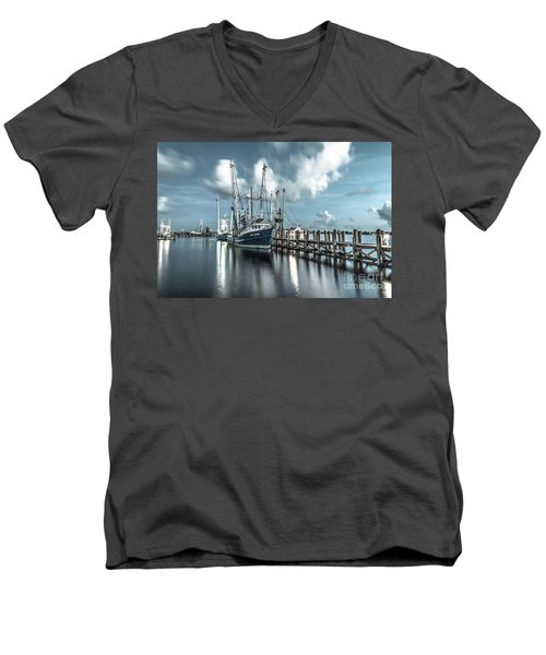 Men's V-Neck T-Shirt featuring the photograph Cpt. Duyen by Maddalena McDonald