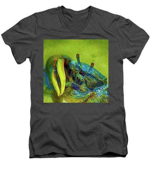 Crab Cakez 2 Men's V-Neck T-Shirt