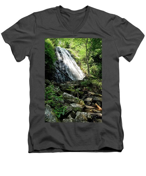 Crabtree Falls Men's V-Neck T-Shirt
