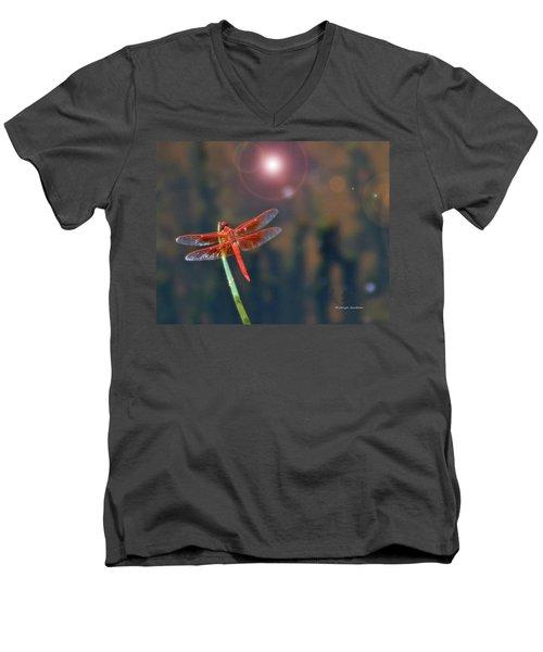 Crackerjack Dragonfly Men's V-Neck T-Shirt