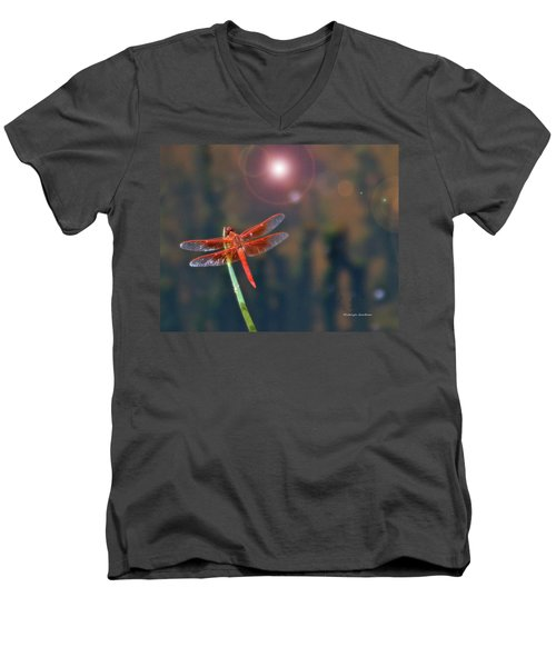 Crackerjack Dragonfly Men's V-Neck T-Shirt