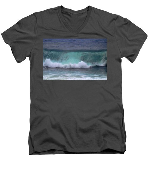 Crashing Wave Men's V-Neck T-Shirt