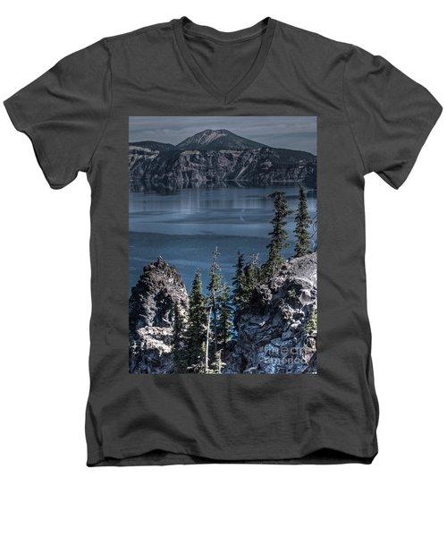Crater Lake 4 Men's V-Neck T-Shirt