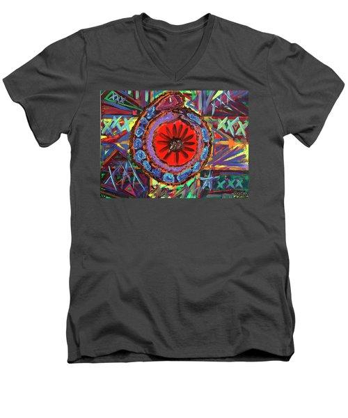 Crazil Men's V-Neck T-Shirt
