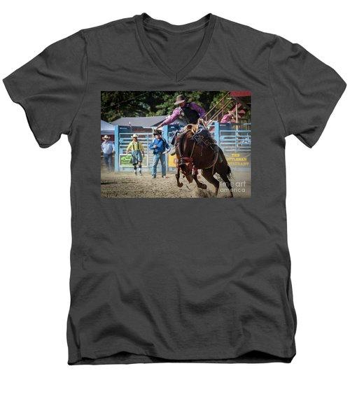 Crazy Horse Men's V-Neck T-Shirt