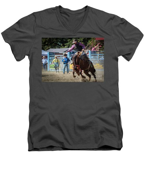Crazy Horse Men's V-Neck T-Shirt
