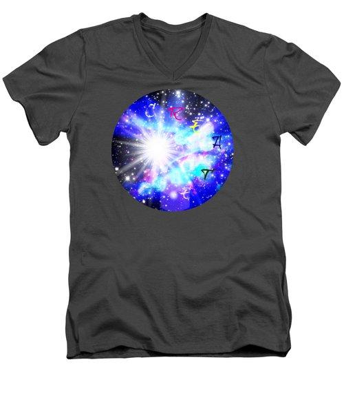 Create 1 Men's V-Neck T-Shirt