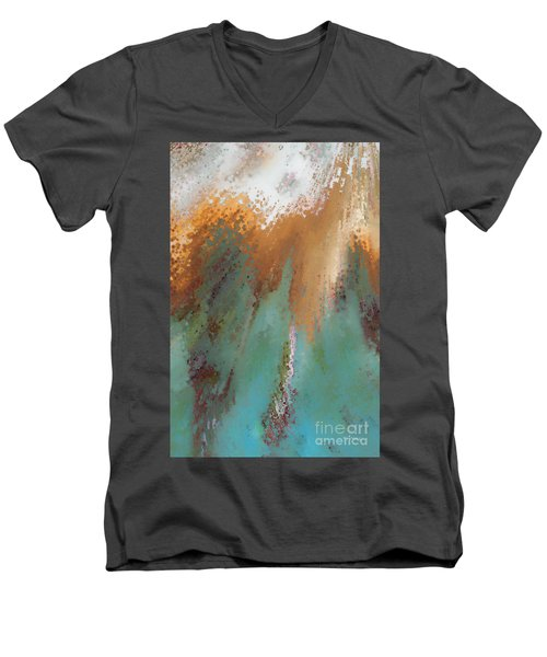 Created According To God. Ephesians 4 24 Men's V-Neck T-Shirt by Mark Lawrence