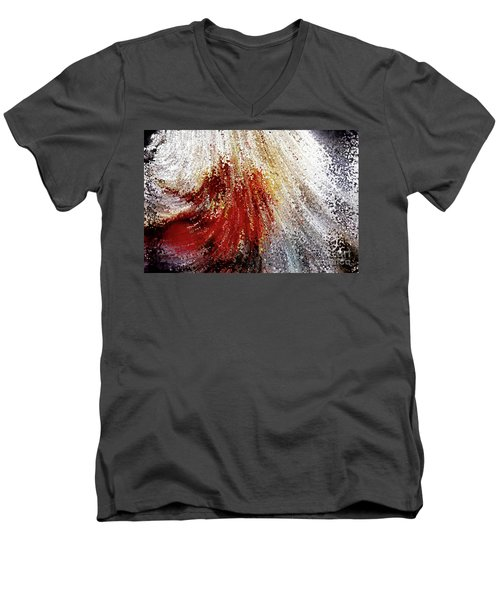 Created To Become Like Christ. Genesis 1 26 Men's V-Neck T-Shirt