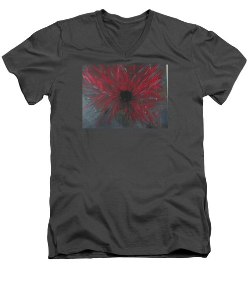Creation Crying Men's V-Neck T-Shirt by Sharyn Winters