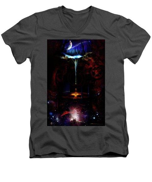 Creation Of Time Men's V-Neck T-Shirt