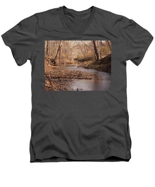 Creek Men's V-Neck T-Shirt