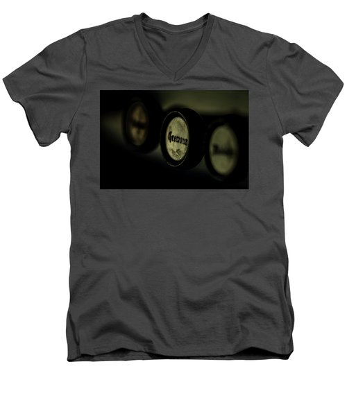 Men's V-Neck T-Shirt featuring the photograph Cremona by Jay Stockhaus