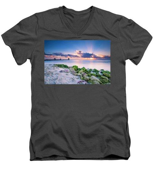 Crepuscular Men's V-Neck T-Shirt