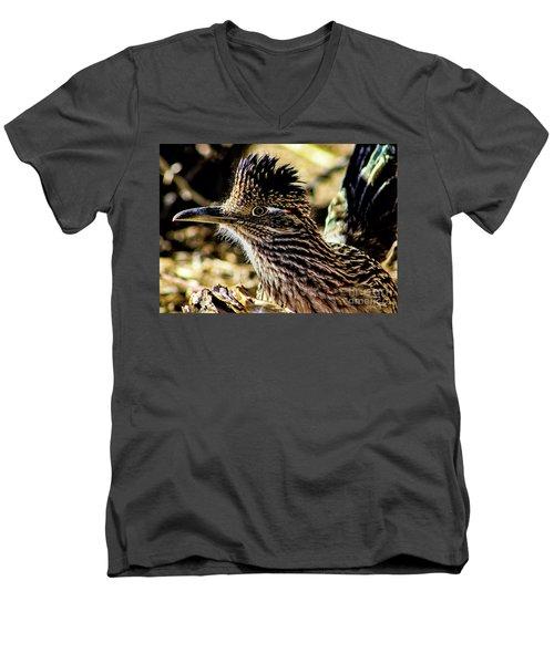 Cresting Roadrunner Men's V-Neck T-Shirt