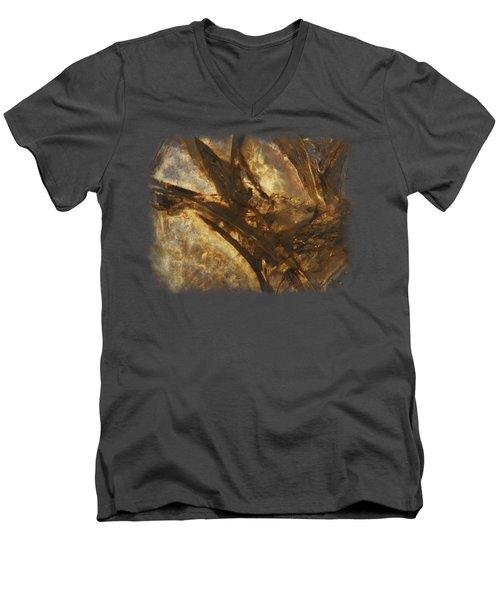 Crevasses Men's V-Neck T-Shirt