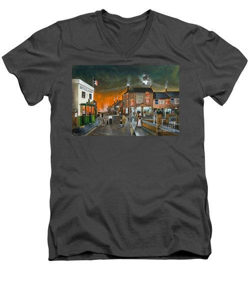 Cribnight Men's V-Neck T-Shirt
