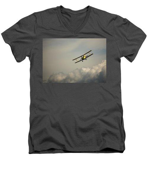 Crop Duster Men's V-Neck T-Shirt