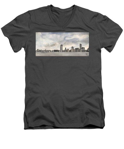 'cross The Mersey Men's V-Neck T-Shirt
