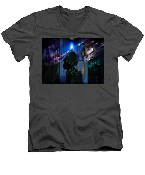 Crossfire Men's V-Neck T-Shirt