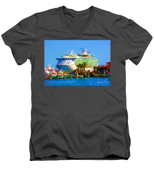 Crucero Cabo Men's V-Neck T-Shirt