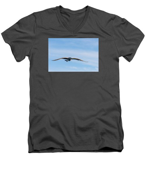 Cruising Men's V-Neck T-Shirt by Derek Dean