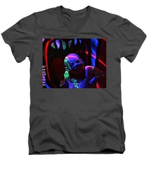 Cry Baby Men's V-Neck T-Shirt