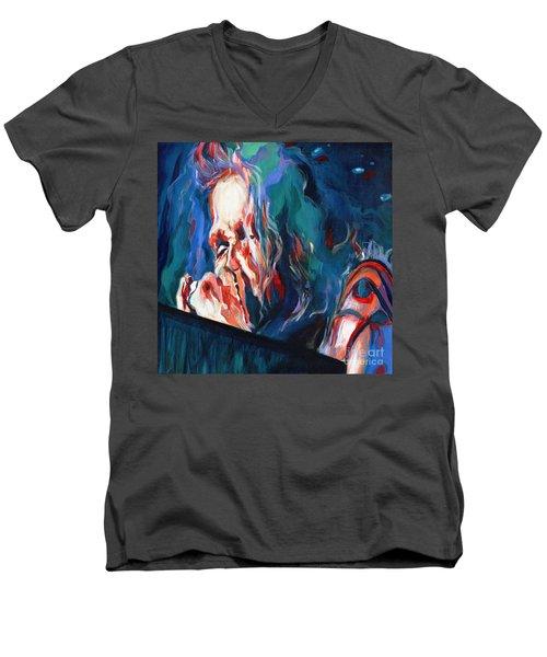 Love Is Sweet Misery. Steven Tyler  Men's V-Neck T-Shirt