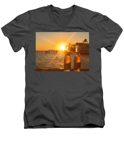 Crystal Clear Men's V-Neck T-Shirt by JAMART Photography
