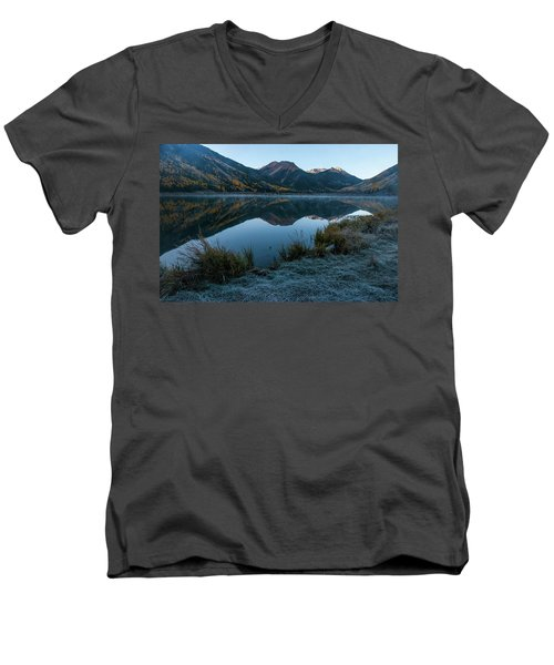 Crystal Lake - 0565 Men's V-Neck T-Shirt