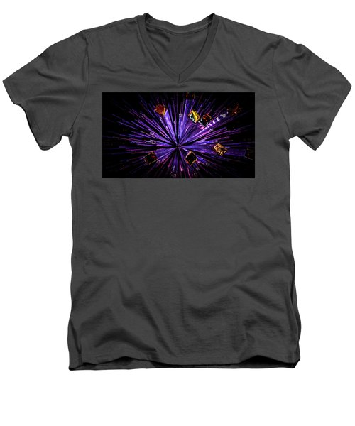 Crystal Reports Men's V-Neck T-Shirt