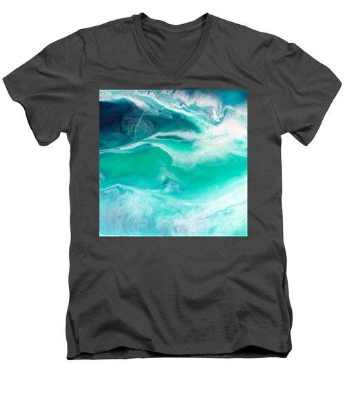 Crystal Wave12 Men's V-Neck T-Shirt