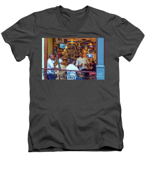 Cuba 0048 Men's V-Neck T-Shirt