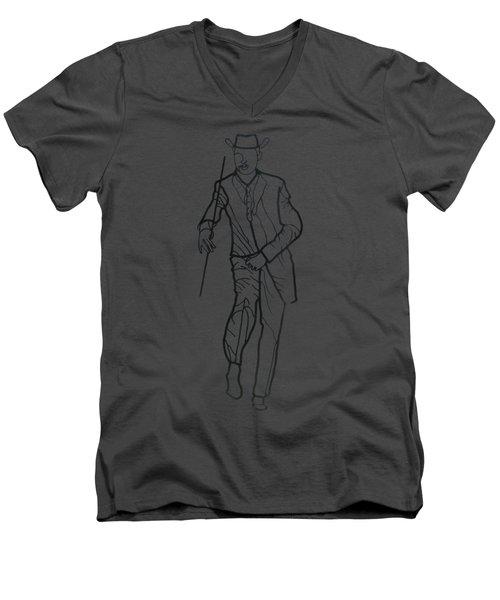 Cuban Gentlemen Men's V-Neck T-Shirt