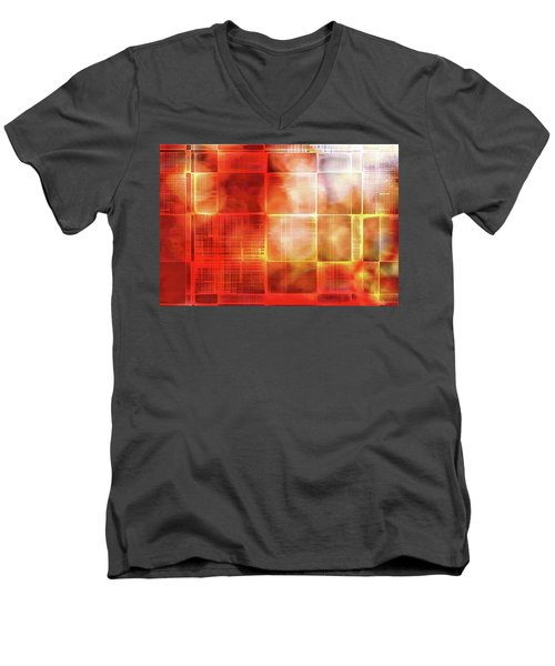 Cubist Men's V-Neck T-Shirt