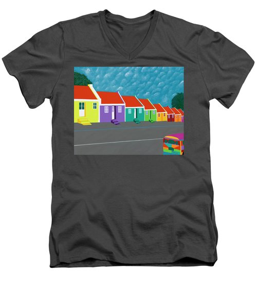 Curacao Dreams IIi Men's V-Neck T-Shirt