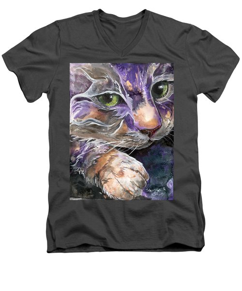 Curiosity Men's V-Neck T-Shirt
