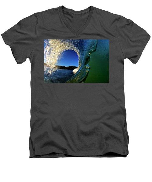 Curl Men's V-Neck T-Shirt