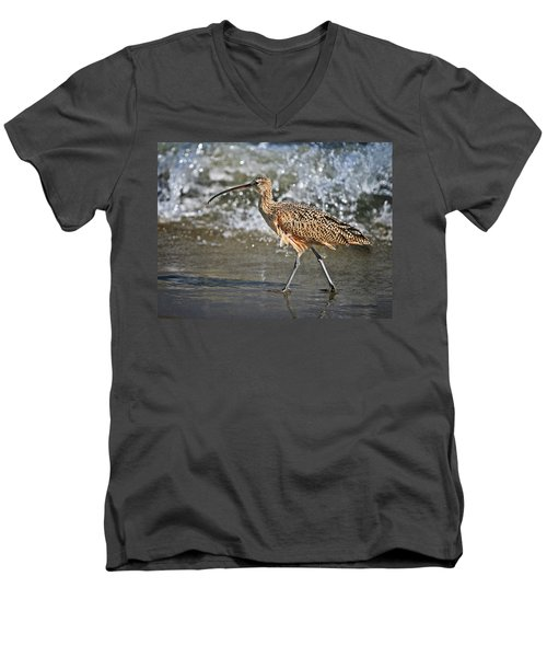 Curlew And Tides Men's V-Neck T-Shirt