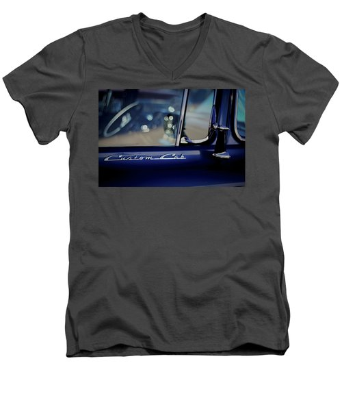 Custom Cab Men's V-Neck T-Shirt