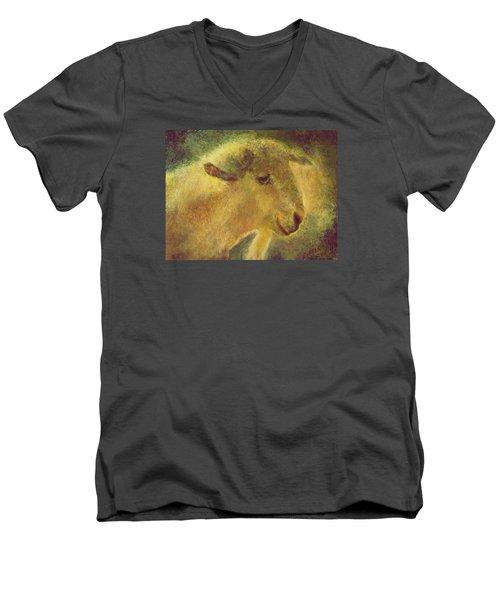 Cute Sheep Men's V-Neck T-Shirt