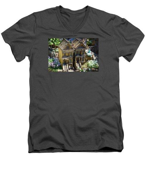 Cute World Men's V-Neck T-Shirt