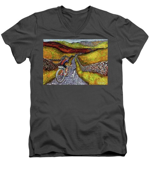Lancashire Lanes II Men's V-Neck T-Shirt