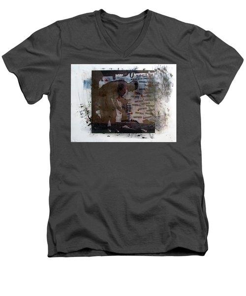 D U Rounds Project, Print 1 Men's V-Neck T-Shirt